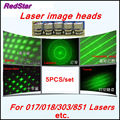 [RedStar]5PCS Laser image heads 50000mW Blue laser image heads 5 images for 017/303/018/851 etc.  laser