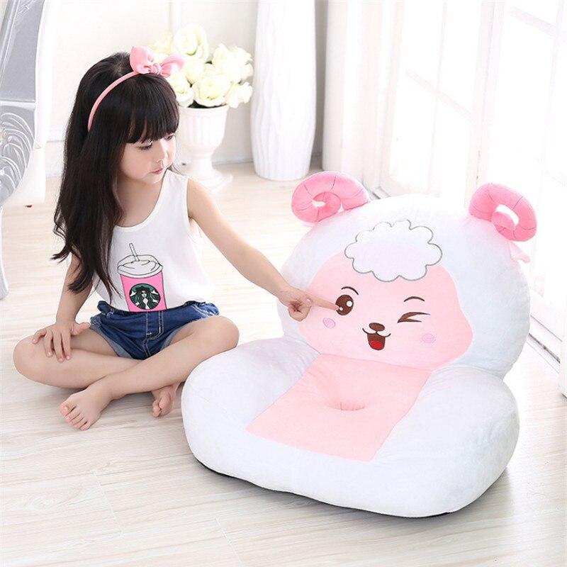 Fancytrader mignon peluche animaux doux en peluche chaise Mini canapé Anime singe cochon mouton cheval cochon vache souris Dragon serpent tigre poussin