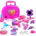 Crianças brinquedo de simulação de simulação de caixa de cosméticos para meninas Criança dresserstaring brinquedo caixa de cosméticos caixa de jóias de princesa menina