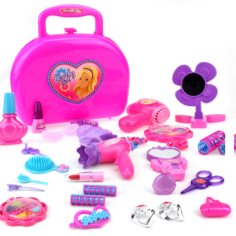 Toys For Kids Girls : Kids simulation toy cosmetic box for girls