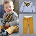 Boys Clothing Sets Kids Clothes Ropa Mujer Children Clothing set for spring and Autumn T-shirt + Pants suits clothes
