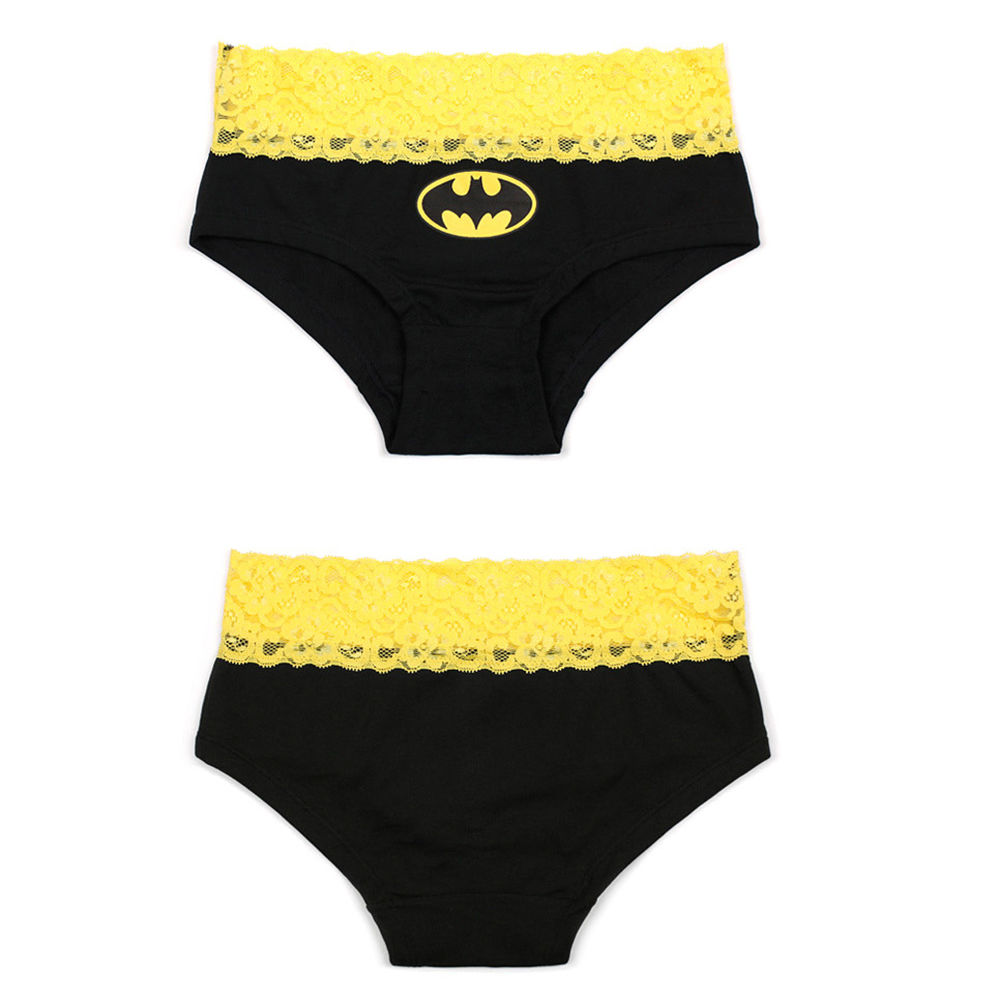 New 2 Styles Sexy Women s Lace Batman Underwear Panties Boxer Briefs  Knickers Lingerie 95a4c33a6
