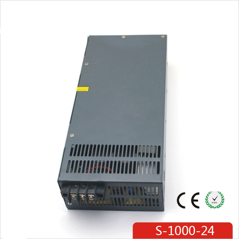 CE Soro 110V INPUT 1000W 24V 42A power supply Single Output Switching power supply for LED Strip light AC to DC UPS ac-dc 150w 24v 6 5a small volume single output switching power supply for led strip light ac to dc