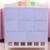 Cama cabecera de la cama de bebé de algodón bolsa de pañales bolsa de almacenamiento de colgar la bolsa de varios pisos de gran máquina de lavado de algodón verde