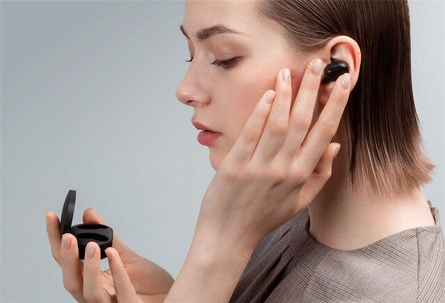 Nuevo Original Xiaomi Redmi Airdots S TWS auricular Bluetooth Estéreo bajo BT 5,0 Eeadphones con micrófono de manos libres auriculares AI Control