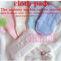 50Pcs Reusable Washable Sanitary Pads Cloth Menstrual Pad Sanitary Maternity Mama Pads heavy sanitary washable pads