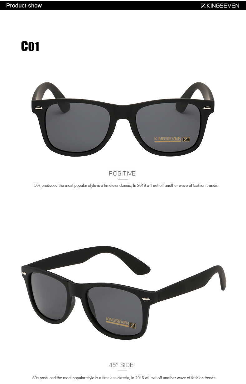 54mm Fashion Unisex Square Vintage Polarized Sunglasses mens Polaroid Women Rivets Metal Design Retro Sun glasses gafas oculos 4