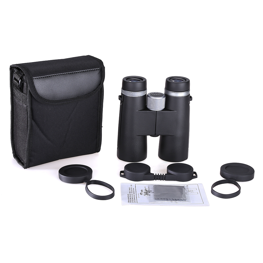 12x42 Binoculars Telescope BAK4 Waterproof Super Multi Coating High Power Prism Optics HD for Camping Hunting Tools-in Monocular/Binoculars from Sports & Entertainment
