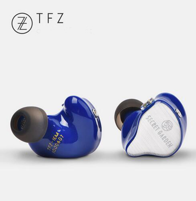 TFZ 2018 SECRET GARDEN HIFI HD Dynamic Flagship Monitor Earbuds, In-ear Headset Metal Heavy Bass Hifi Music Stereo MP3 Earphones elivebuy one drag two bluetooth earphones hd sound stereo bass wireless headset noise reduction running mp3 music earbuds