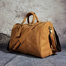 Leather Duffle Travel Tote Bags