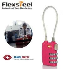 FREE SHIPPING Colorful Resettable 3 Digit Combination Ivation Suitcase Luggage TSA Locks Padlocks for Travel