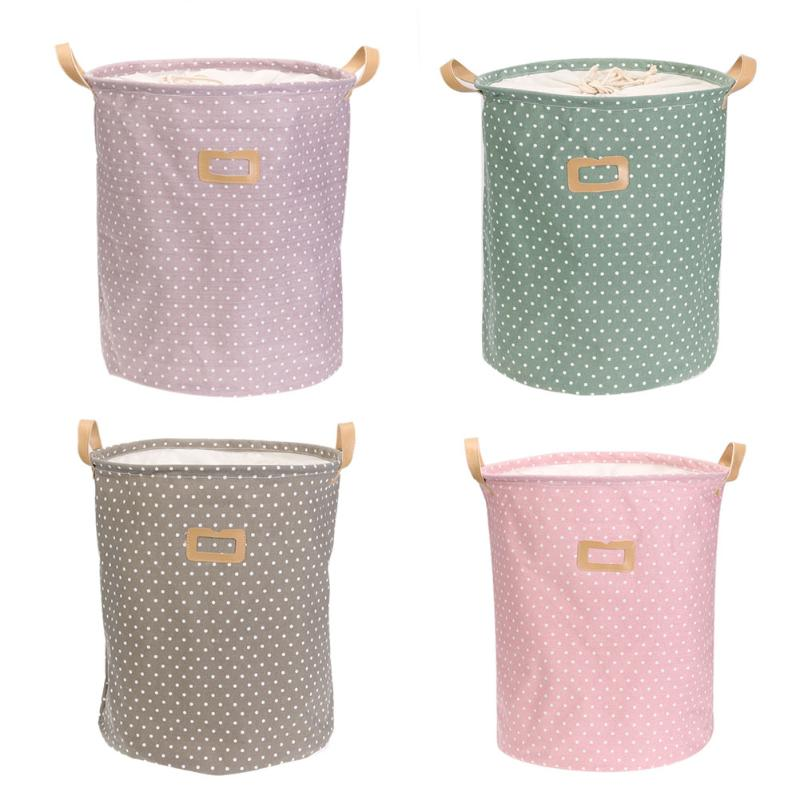 Cute Linen Desktop Storage Fine Net Laundry Anti-deformation Folding Bra Care Organizer Sundries Cosmetic Cabinet Basket Bag