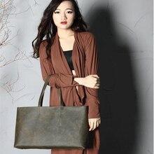 AOMI women genuine leather  composite bag  women  bag handbag fashion handbags