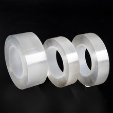 1/3/5m Reusable  multi-function waterproof tape double-sided adhesive nano magic removable sticker strong indoor outdoor