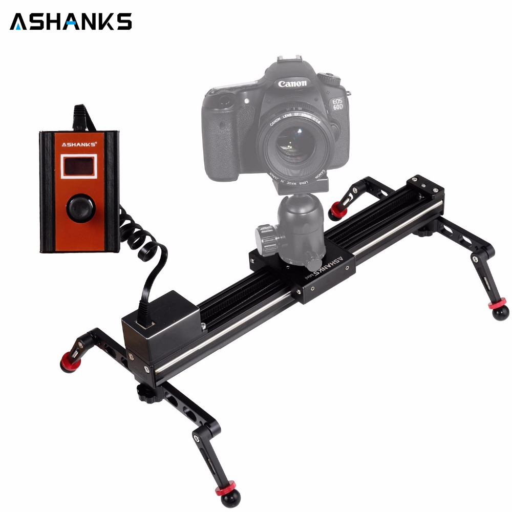 Mini Stepper Motorized Camera Slider Video TimeLapse Electric Control Delay Rail Slide Stabilizer for Photography DSLR