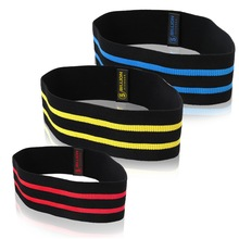 5BILLION Resistance Hip Bands Premium Exercise Bands För Booty Lår Glutes Mjuk Slipmässig Design Loop Set