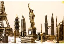 The world famous architectural model  Wine cabinet   decoration creative decorations Home Furnishing birthday gift crafts