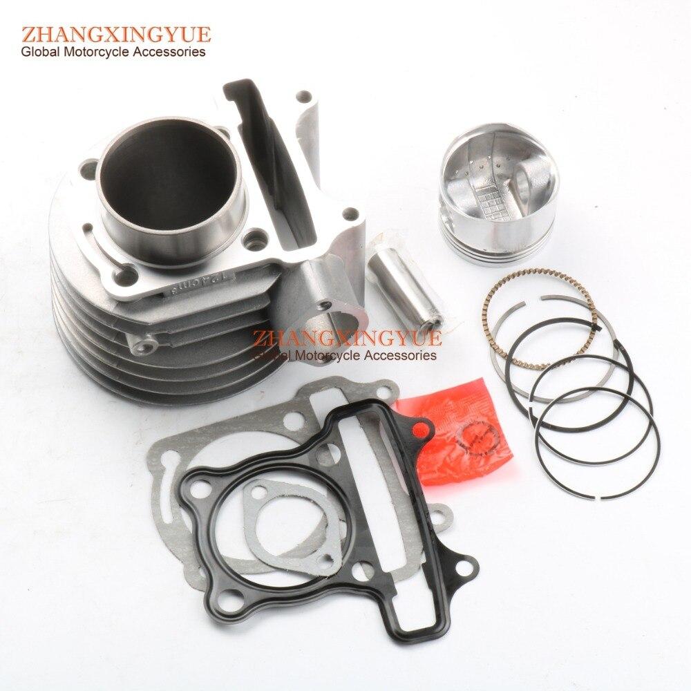 125cc cylindre baril Kit pour KYMCO agilité 125 4 T Eu porter R16 Rs comme Lx comme les gens Eu 3 Super 8 52.4mm