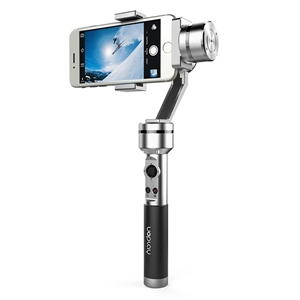 AIbird Uoplay 3-Axis Handheld Universal Smartphone High-Gloss Steady Gimbal Stabilizer for Smart Phone for GoPro & Action Camera [hk stock][official international version] xiaoyi yi 3 axis handheld gimbal stabilizer yi 4k action camera kit ambarella a9se75 sony imx377 12mp 155 degree 1400mah eis ldc sport camera black