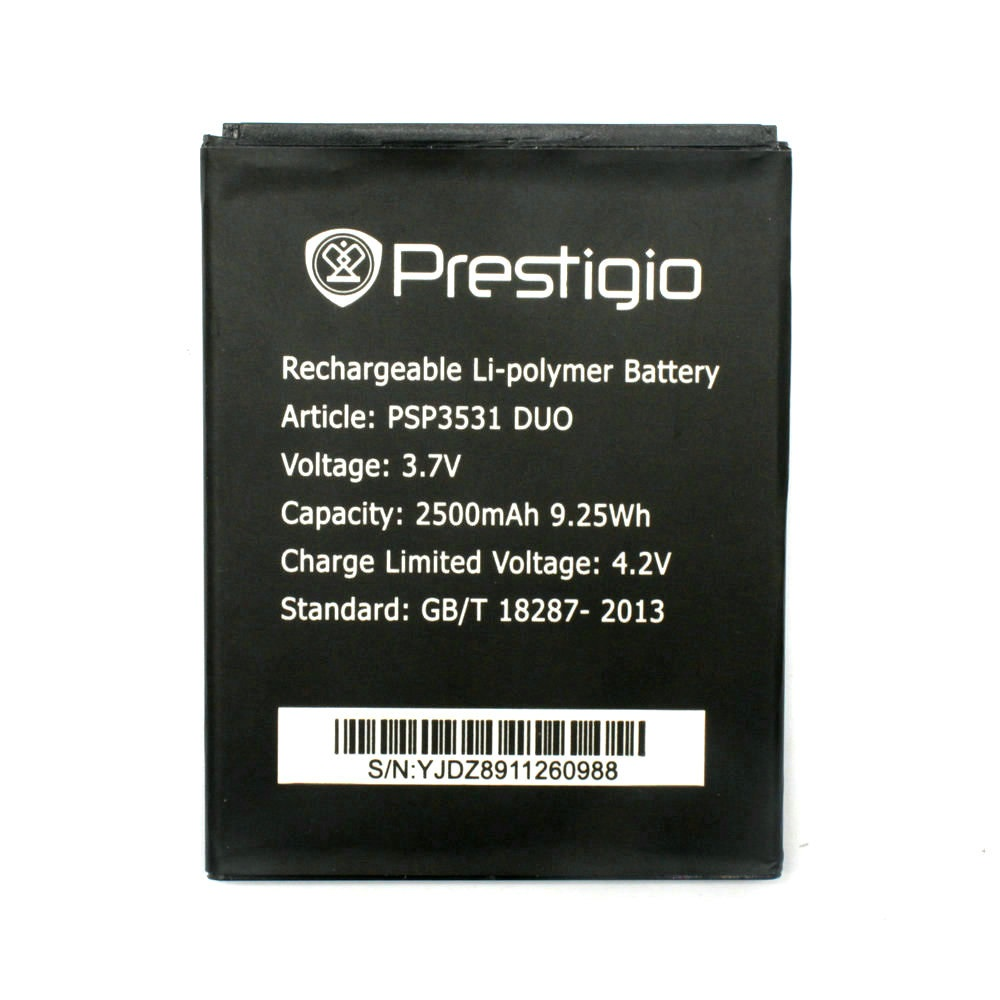 PSP3531 DUO Battery For Prestigio PSP 3531 DUO PSP7530 PSP3532 DUO Muze D3 E3 A7 Phone Battery Replace +Tracking Code image