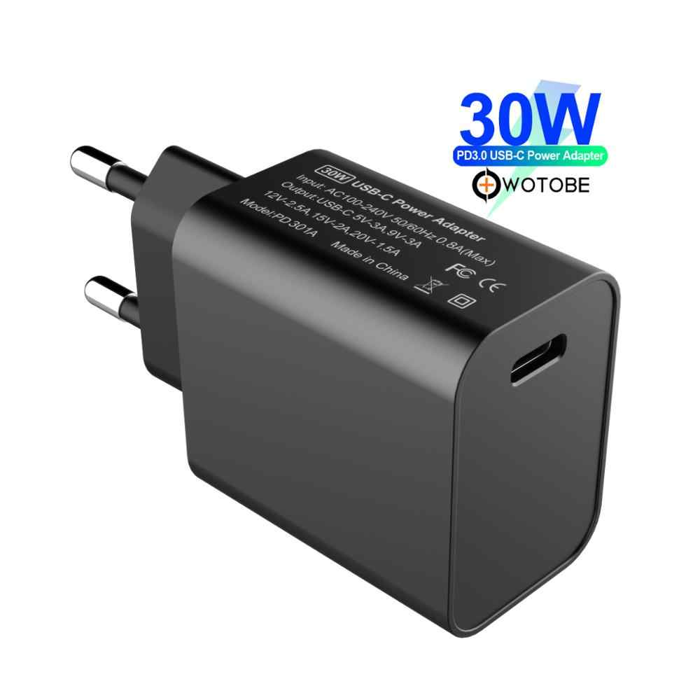 WOTOBE 45W USB C Type C Wall Charger, PowerPort Speed PD/QC3