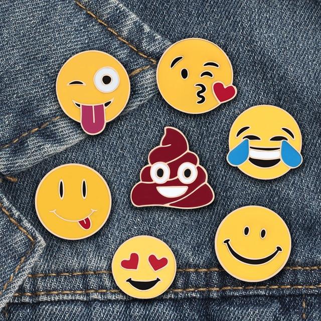 Smiley Brooch Pins 1