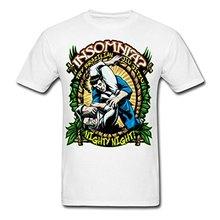 2017 casual popular Insomnia? – Brazilian Jiu Jitsu Men's T-Shirt 100% cotton male tops tee hot sell fashion O-Neck T Shirt
