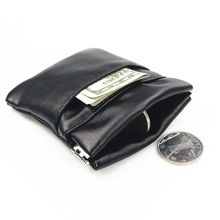 2018 New Fashion Solid Pu Leather Coin Purse Women Men Small Mini Short font b Wallet