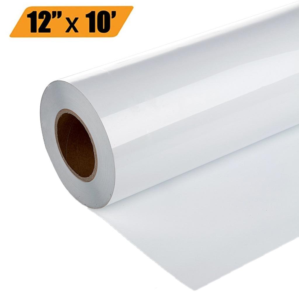 2019 New 1 Roll Vinyl Heat Transfer Iron On DIY Garment Film Cricut Silhouette Paper Art #NN528