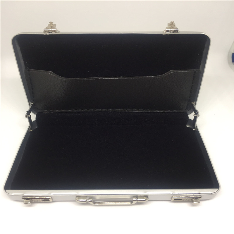 1 X Fashion New Mini Code Case Aluminum Briefcase Business Card ...