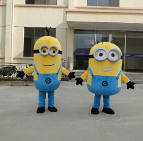 2017 on sale! free shipping13 styles Kevin stuart and Bob mascot minion mascot costume Minion mascot-in Anime Costumes from Novelty u0026 Special Use on ... & 2017 on sale! free shipping13 styles Kevin stuart and Bob mascot ...