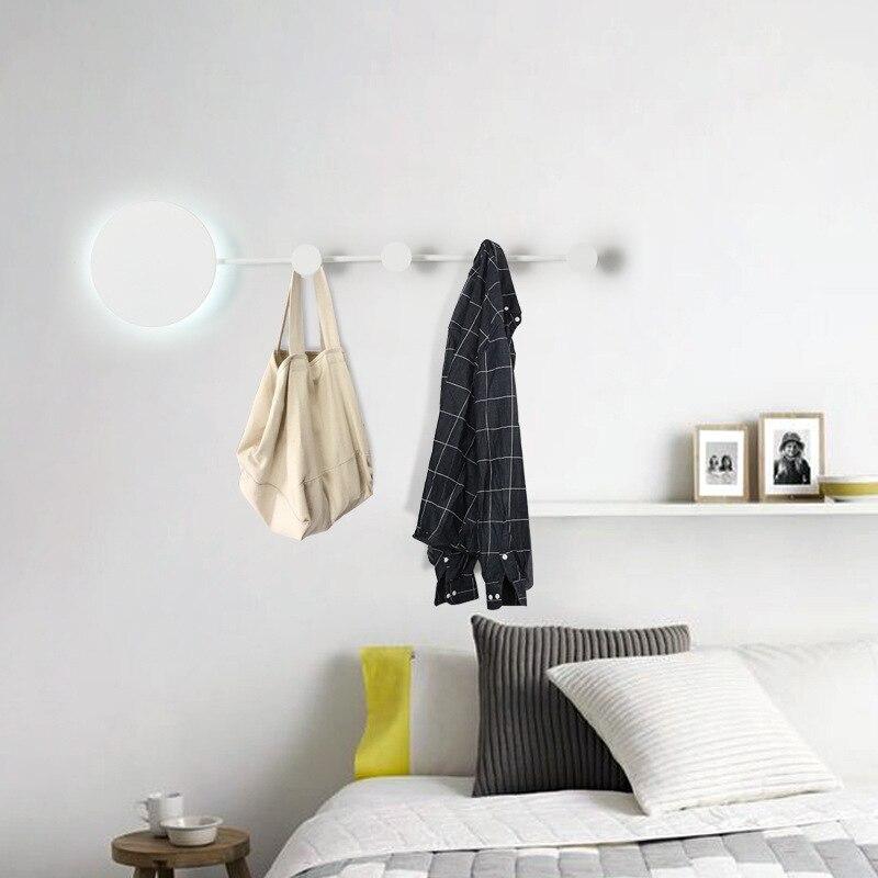 Lámpara de pared moderna para la pared del hogar Luz de dormitorio decoración colgante de iluminación interior soporte de suspensión de diseño creativo - 4