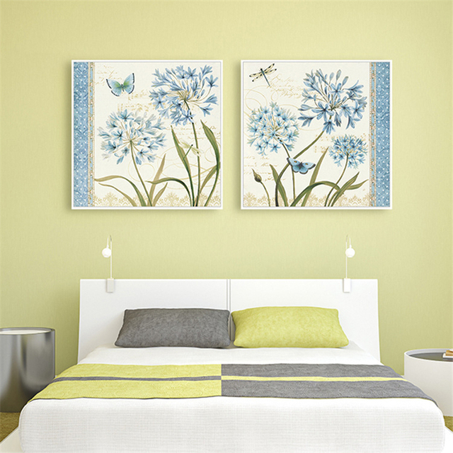 HAOCHU Wall Pictures for Bedroom Landscape Canvas Painting Oil ...