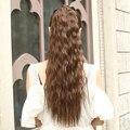 60 см/24 inch длинные вьющиеся ponytail синтетические фальшивые волосы хвостики шиньон для прекрасной девушки клип в вьющиеся хвост наращивание волос