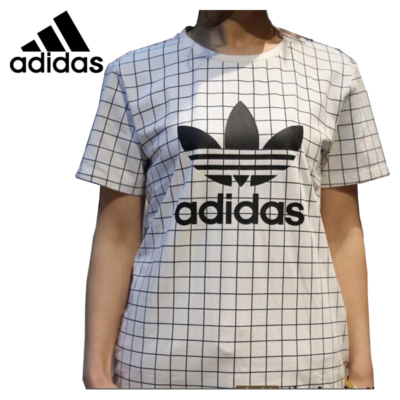 Original New Arrival 2018 Adidas Originals CLRD T WITH Women's T-shirts short sleeve Sportswear цена