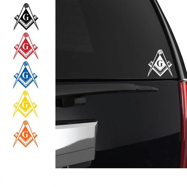 Freemason Logo Car Sticker Wall Sticker PS4 Symbol Templar Masonic ...
