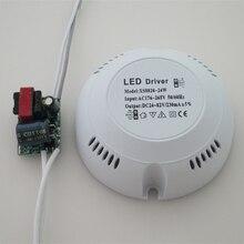 Luz de techo de corriente constante lámpara redonda transforma fuente de alimentación de alta eficiencia estable Multi protección Downlights LED conductor