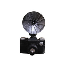 Vintage Resin Camera Ornaments Home Bar Shop Window Decor Retro Camera Model Crafts Photography Props Home Decor Accessories(China)