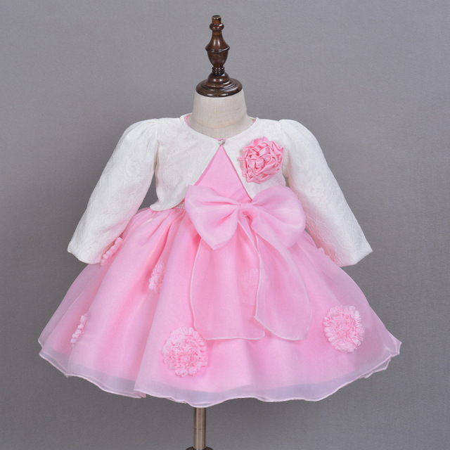 744176073 Baby Girl Dress + Cape + Hairband 3pcs set for Infant Girls Newborn  Princess Birthday Party Gown Baby Clothing Girls Clothes-in Dresses from  Mother & Kids ...