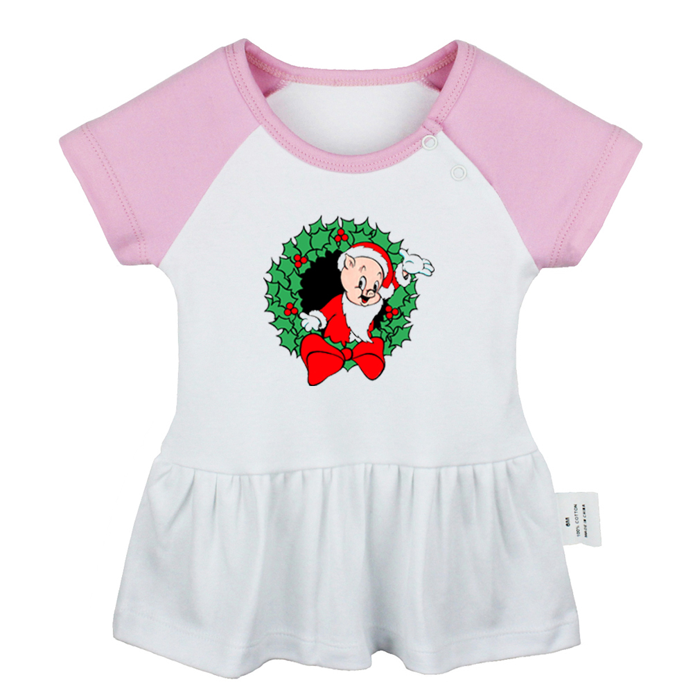 Camidy 1-6T Girls Princess Dresses Kids Short Sleeve Floral Print Tutu Mesh Dress