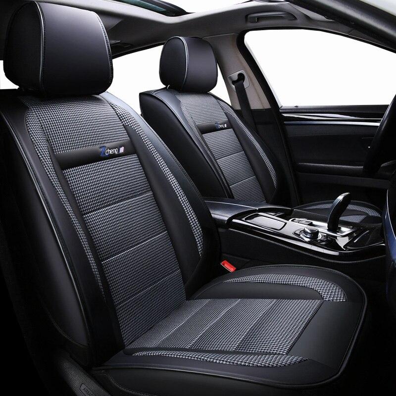 New Luxury leather Universal car seat cover for hyundai Elantra solaris tucson Zhiguli veloster getz creta