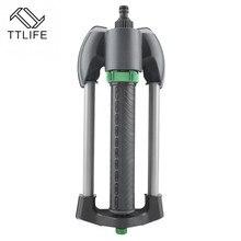 Automatic Oscillating Sprinkler Watering Irrigation Tool for Lawn Garden Spray Head Supplies Black