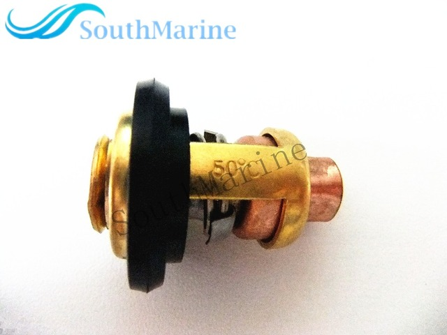 688-12411 6H3-12411 6E5-12411 Outboard Engine Boat Motor Thermostat for Yamaha 2-Stroke 3HP 15HP 25HP 30HP 40HP - 250HP