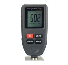 1pc Digital Professional Thickness Gauge Coating Meter Car Thickness Meter Thickness Tester Measure Range:0~1300um (Probe F&NF)