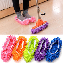 Floor Dust Cleaning Slipper Lazy Shoes Cover Mop Cleaner Multifunction Home Cloth Clean Microfiber Mophead Overshoes