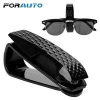Portable Car Glasses Holder Storage Holder Sun Visor Sunglasses Eyeglasses Clip Auto Fastener Clip Glasses Cases Car Accessories|Glasses Case| |  -