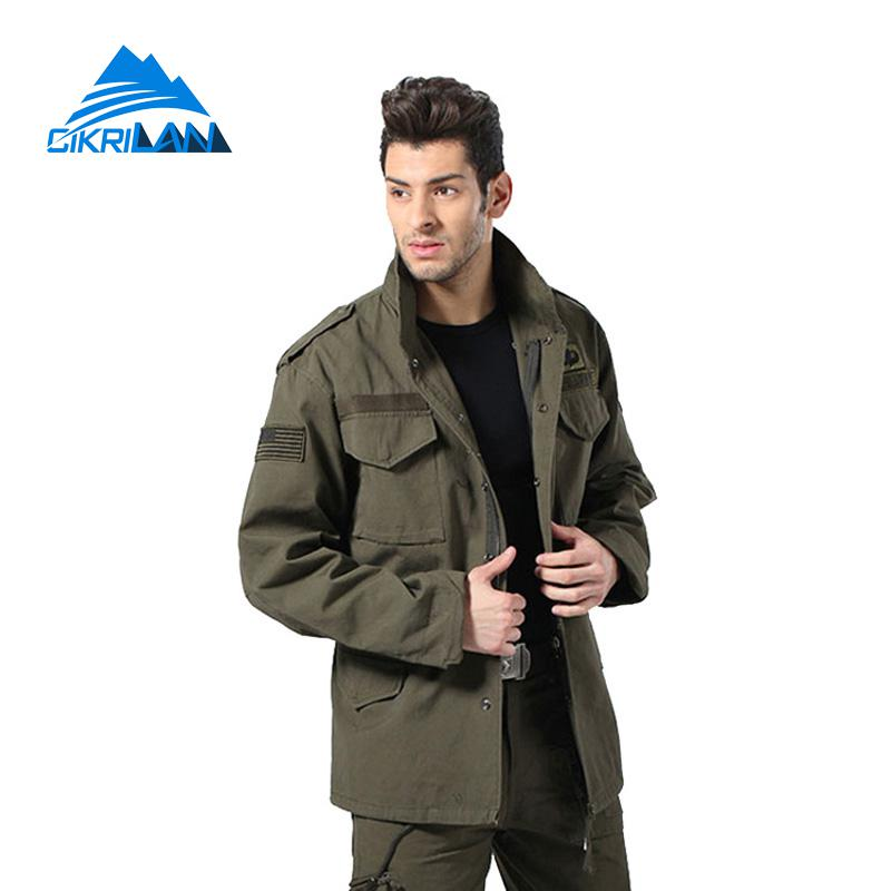 Mens Water Resistant Windstopper Chaqueta Hombre Military Tactical Hooded Coat Army Combat Camping Hiking Outdoor Jacket Men outdoor camping hiking survival water filtration purifier drinking pip straw army green