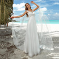 Summer Boho Wedding Dresses 2017 For Pregnant Women Maternity Empire Lace Bridal Gowns Plus Size Floor Length Vestido De Noiva