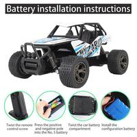 1/20 Children's Toy 1813 Alloy Buggy Car 2.4G remote control technology remote control distance up to 50 meters