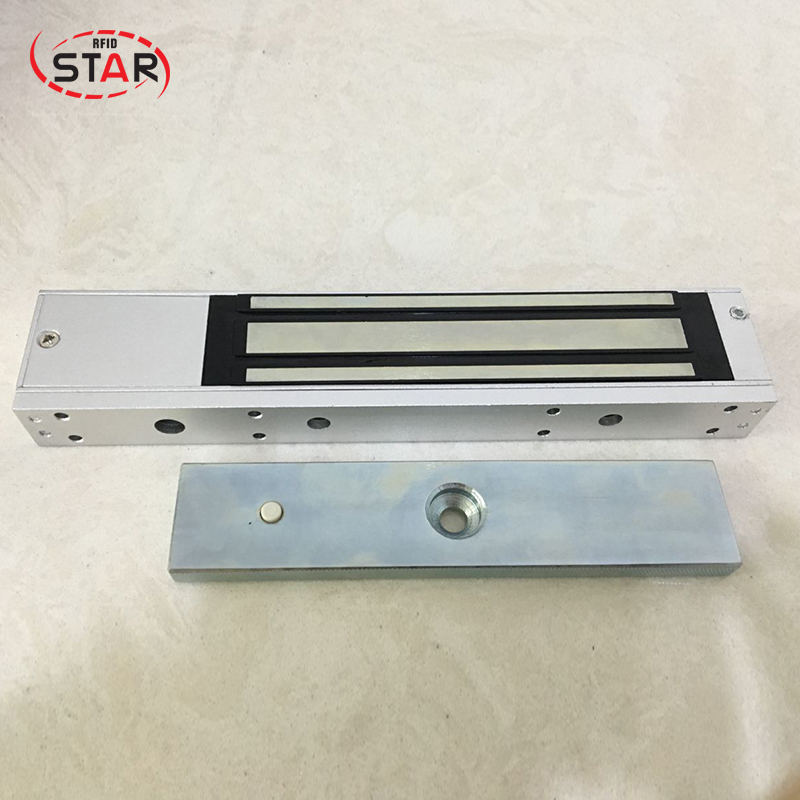 Made in china Glass/wooden/fireproof door 280kg(600Lbs) holding force feedback delay Magnetic Door Lock stainless steel gate lock with waterproof for wooden door glass door metal door fireproof door 280kg 600lbs electromagnetic lock